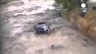 Vidéo choc : Deux militaires boliviens se noient en tentant de sauver le véhicule de leur capitaine