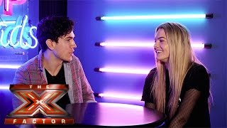 The X Factor Backstage with TalkTalk TV | Ep 37 | Luke Franks gets the goss from Louisa Johnson