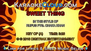 Rufus ftg. Chaka Khan - Sweet Thing (Backing Track)