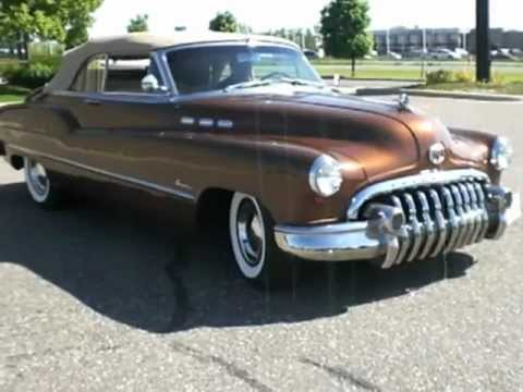 1950 buick super convertible - $49,950 - youtube