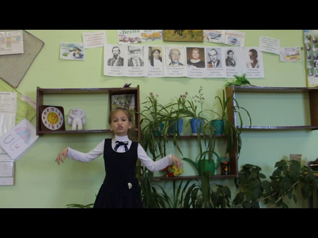 Изображение предпросмотра прочтения – АннаНаговицына читает произведение «Поспеши, весна!» Х.А.Мянд