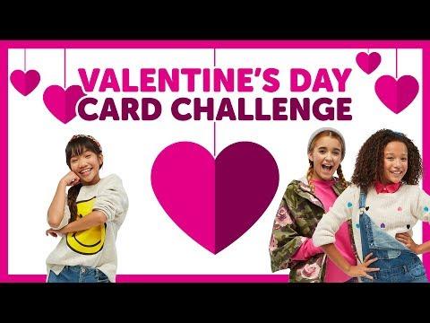 Valentine's Day Card Challenge with Ahnya, Julianna & Sierra
