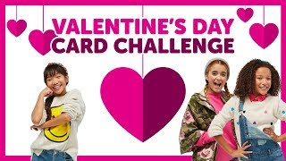 Valentine's Day Card Challenge with Ahnya, Julianna & Sierra