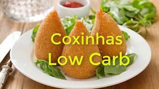 Coxinhas Low Carb   Emagrecer com receitas low carb