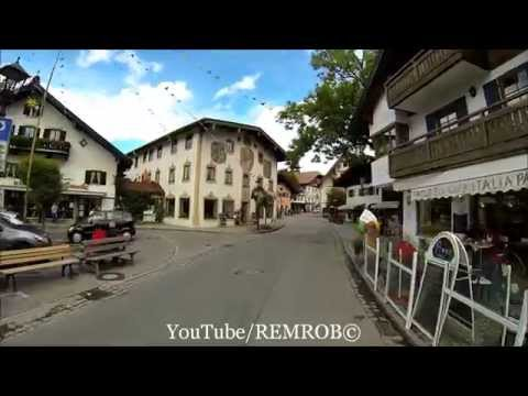 Driving From Garmisch To Oberammergau Then Back To Ettal Abbey, Germany