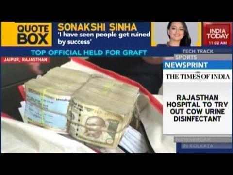 Rajasthan's Mining Secretary Ashok Singhvi Arrested For Graft