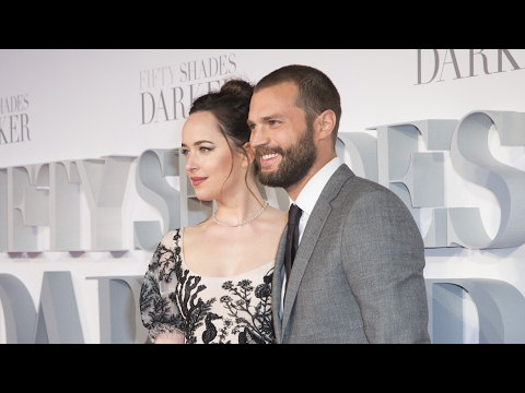 FIFTY SHADES DARKER UK Premiere Red Carpet - Dakota Johnson, Jamie Dornan, Rita Ora