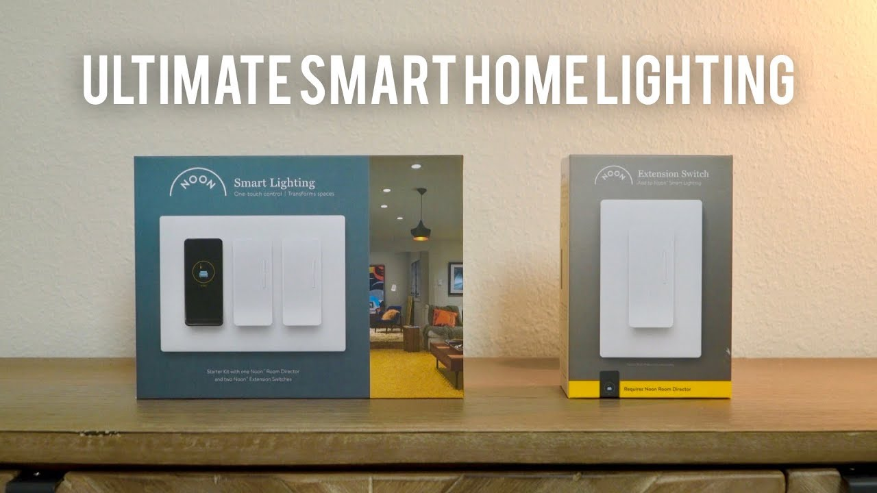 Best Ultimate Smart Home // Noon SMART Lighting System!