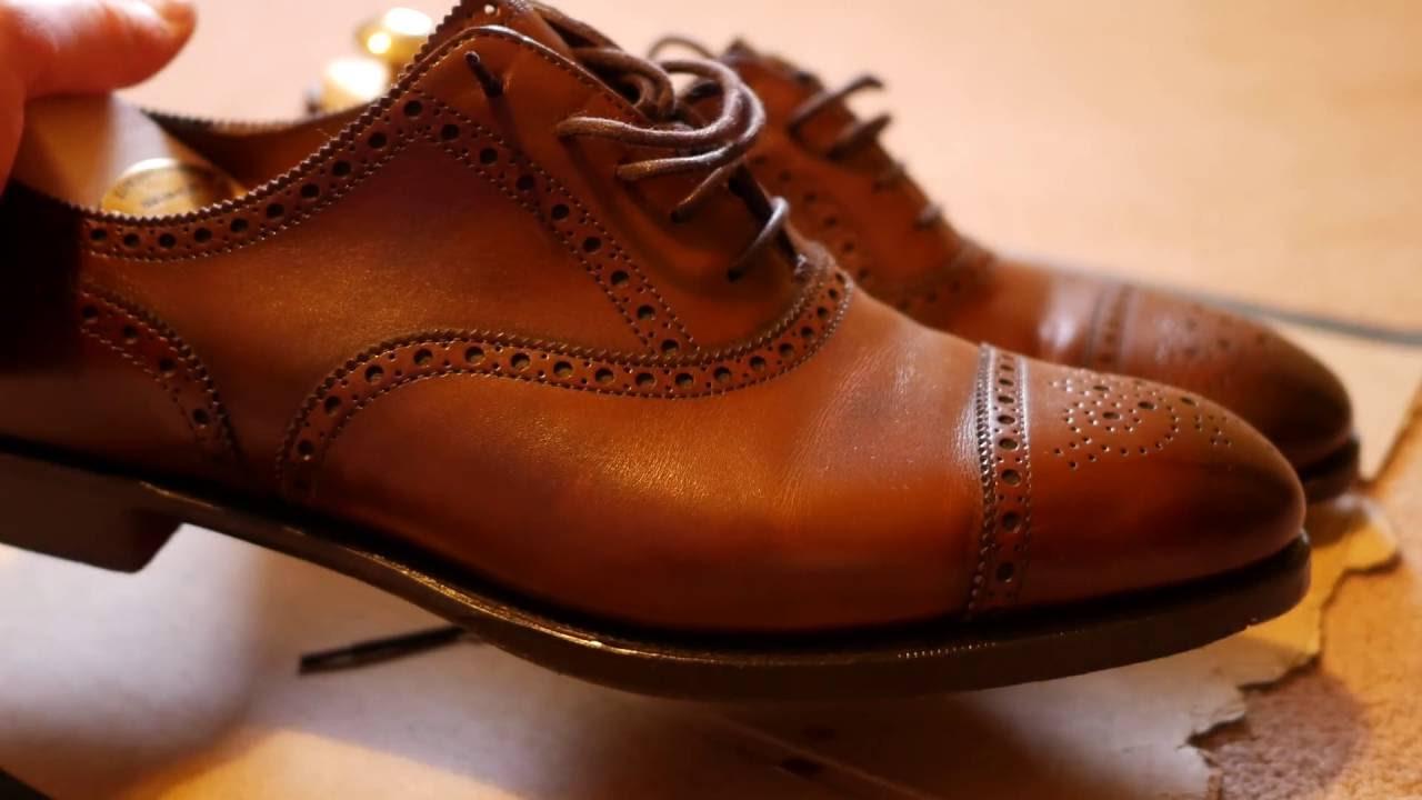 Edward green cadogan dark oak shoes youtube jpg 1280x720 Edward green shoes e8c722ddb8d