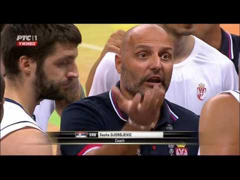 FIBA Olympic Qualifying Tournament 2016 Serbia - Puerto Rico 108-77 Final
