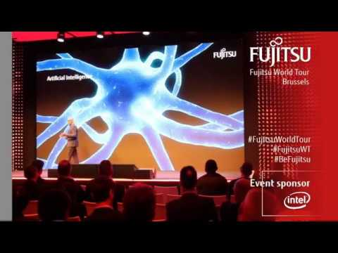 Ravi Krishnamoorthi - Human Centric Innovation - Fujitsu World Tour 2017 Brussels