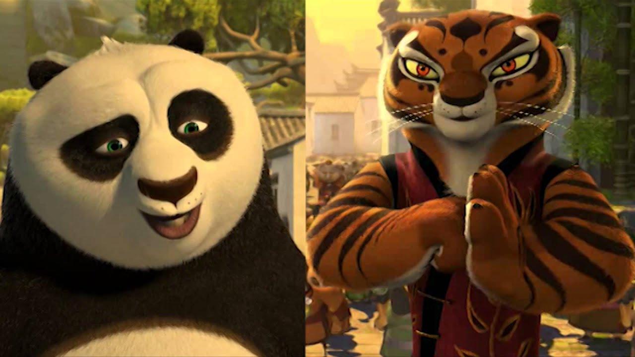 po & master tigress (kung-fu panda) - youtube
