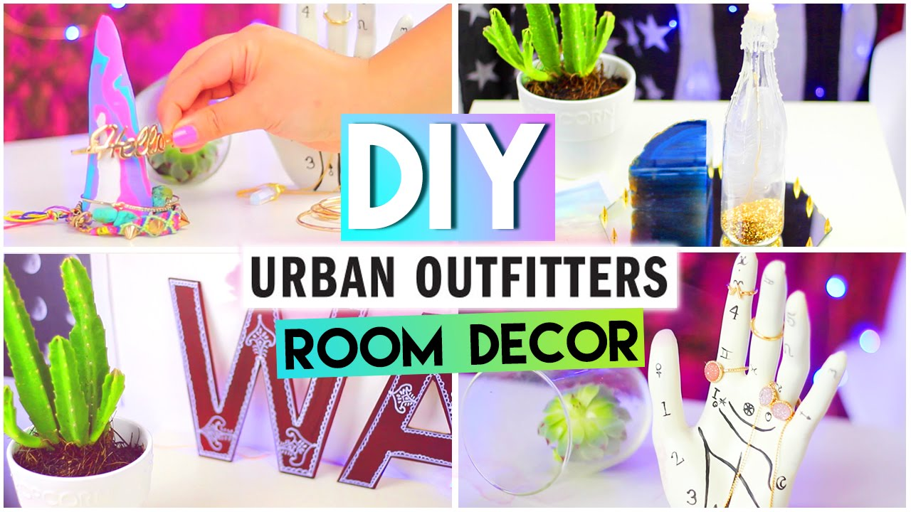DIY Room DecorUrban Outfitters Tumblr Style YouTube