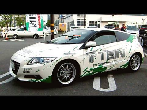 Tein Cr Z 40mm Low Down Youtube