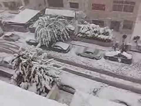 Amman Under Snow