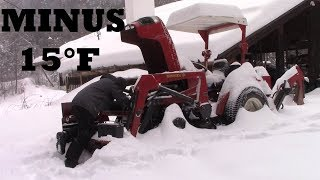 Cheap Craigslist Tractor Cold Start + Plowing