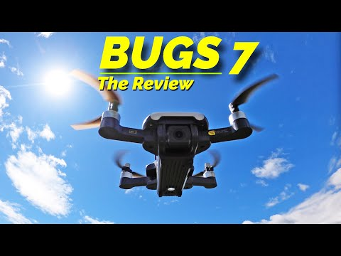 MJXRC BUGS 7 - The 2nd Best Camera Drone under 250 grams! Review