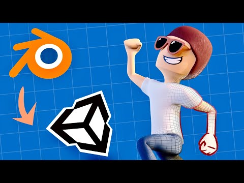How To Make A 3D Character For Your Game (Blender To Unity)