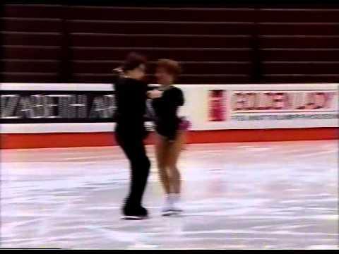 Sharutenko & Naumkin (RUS) - 1995 World Juniors, Ice Dancing, Original Dance