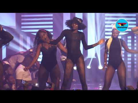 Shatta Michy performs at Reign Concert