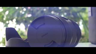 Canon EOS 70D + Sigma 18-35mm 1.8f Art Lens Anamorphic flare quick unboxing ver.