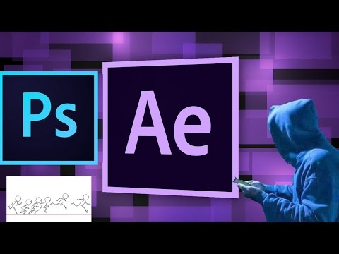 How to make simple animations using After effect & Photoshop CC 2017