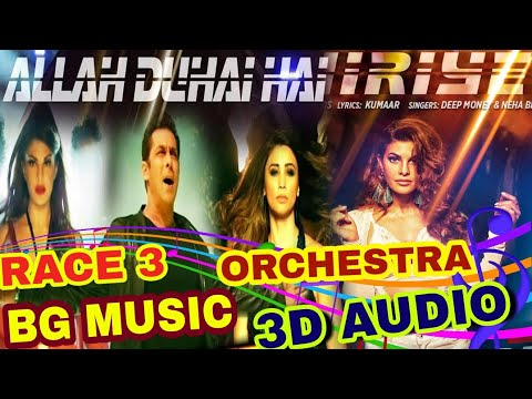 race 3 background music