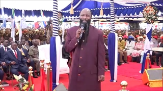 Mathare North Altar   Sunday Service 12 February 2017 PROPHET DR DAVID OWUOR