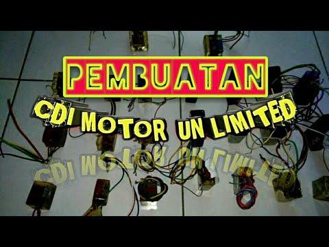 Proses pembuatan CDI Motor Unlimited dan pengecoran resin  (DIY MOTOR CYCLE CDI HAND MADE) #MOTOVLOG