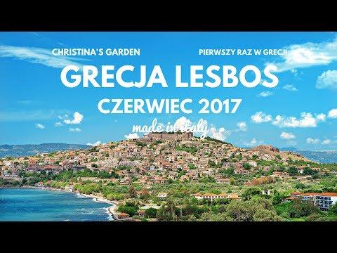 Grecja Lesbos Czerwiec 2017 Christina's Garden