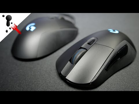 Logitech G403 Prodigy Review (Wired and Wireless Versions by