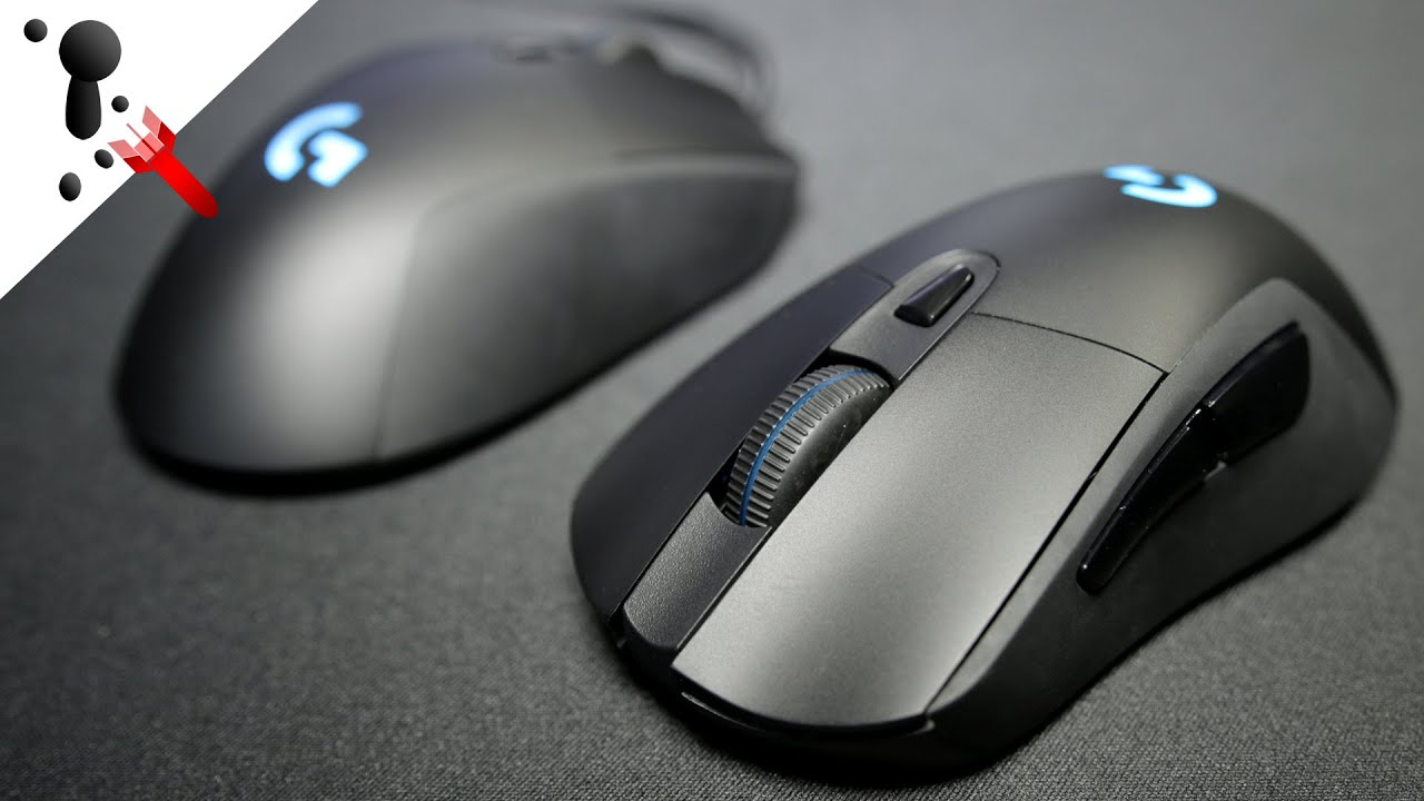 Logitech G403 Prodigy Review (Wired and Wireless Versions) - YouTube