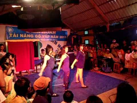 Nhảy hiện đại-nhà văn hóa thiếu nhi quận Gò Vấp-hè 2011