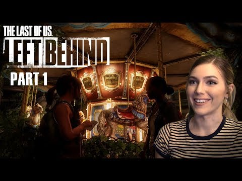 Becoming Ellie  TLOU Left Behind DLC Pt. 1  Marz Plays