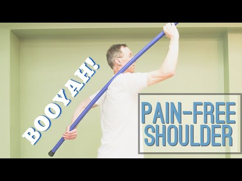 Two 60 Second Exercises That Took AWAY My Shoulder Pain in 2 Weeks (Impingement)