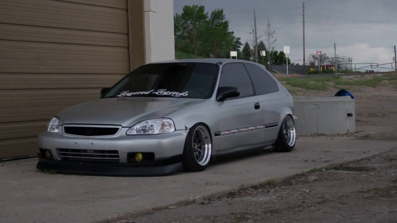 slammed honda hatch lvs media static honda civic youtube