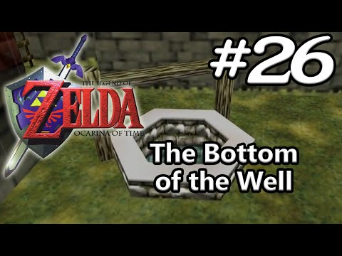 Ocarina of Time N64 100% - Episode 26 - The Bottom of the Well