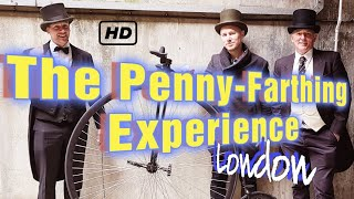 I wonder if I can ride a Penny-Farthing without falling off - London Travel Vlog - Day Out in London
