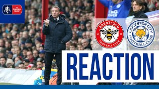 'Objective Was To Get Through' - Brendan Rodgers | Brentford vs. Leicester City