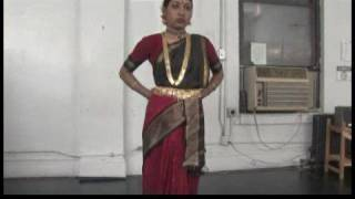 Bharatanatyam South Indian Dance Lessons : Basic Bharatanatyam Dance Steps