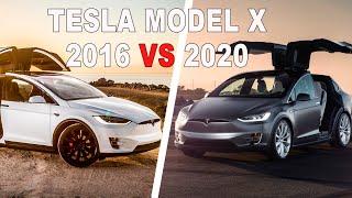 Tesla Model X 2016 vs 2020! Что изменилось за 4 года !