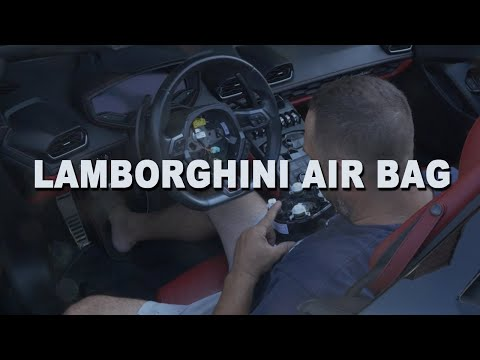 How To Remove and Replace a Steering Wheel Airbag – 2016 Lamborghini Huracan Spyder