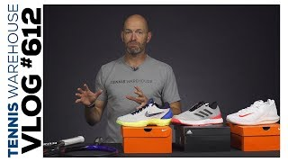 Sweet Shoes & Pro Stock Racquets -- VLOG #612
