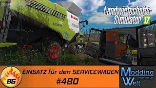 LS17 - Hof Bergmann Reloaded #480 | EINSATZ für den SERVICEWAGEN | Let's Play [HD]