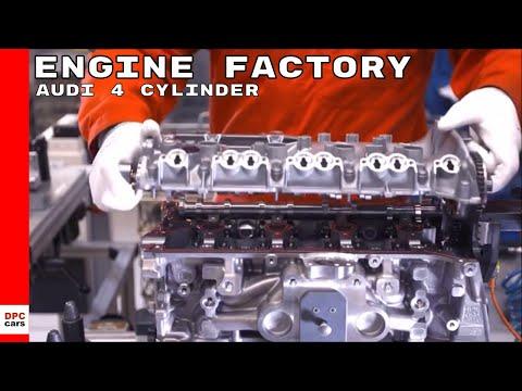 Audi 4 Cylinder Engine Factory