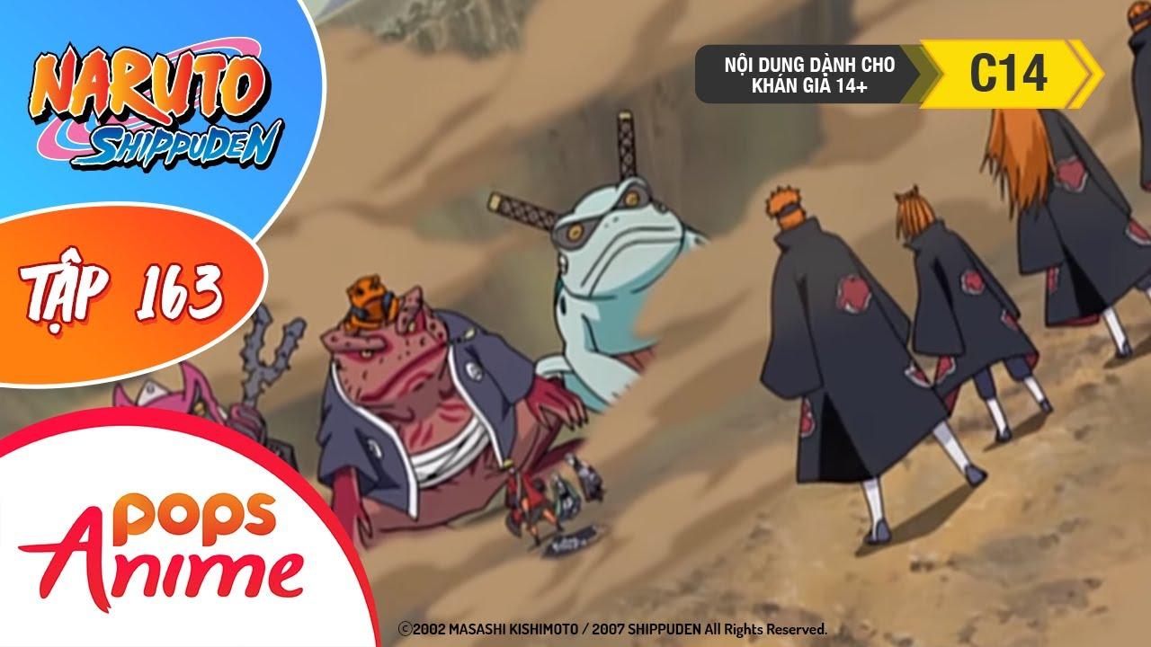 Naruto Shippuden Tập 163 - Bộc Phát! Cảnh Giới Tiên Nhân - Trọn Bộ Naruto Lồng Tiếng