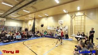 Juggling on Ice 2015 Fight Night Final - Tony Pezzo vs Luke Burrage