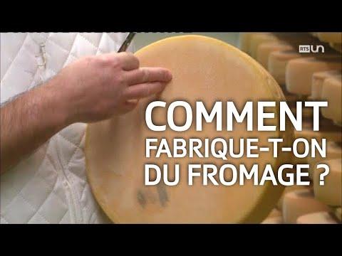 ABE: La fabrication du fromage à raclette suisse