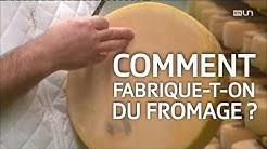 La fabrication du fromage à raclette suisse. ABE-RTS