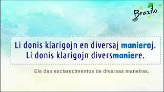 MANIERO substantivo em Esperanto